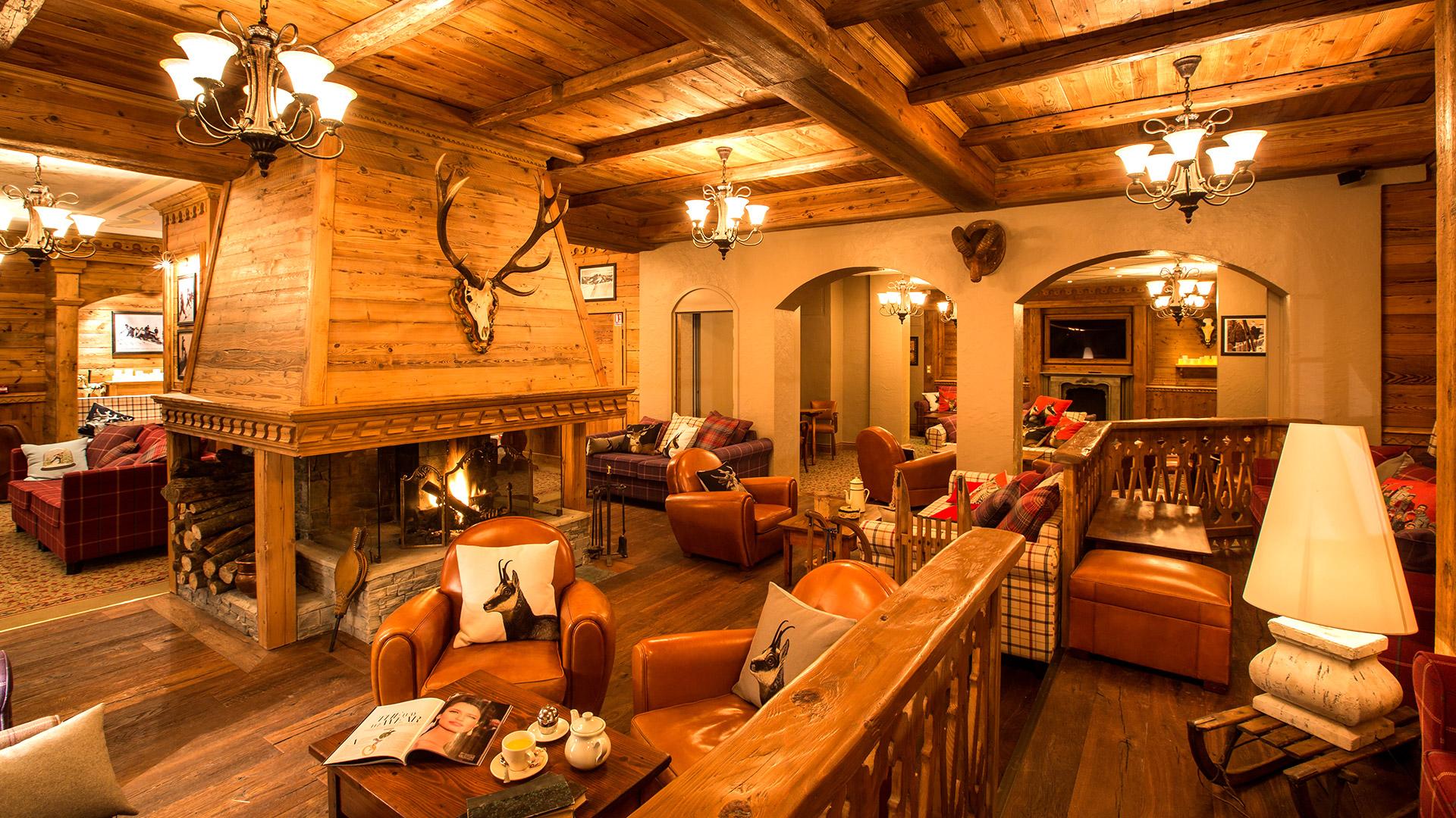 salon hôtel montagne