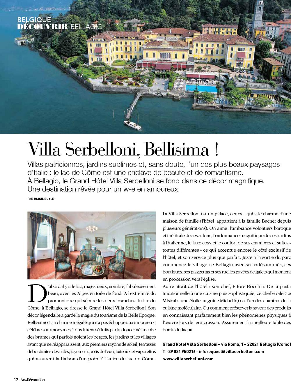 Découvrir Bellagio
