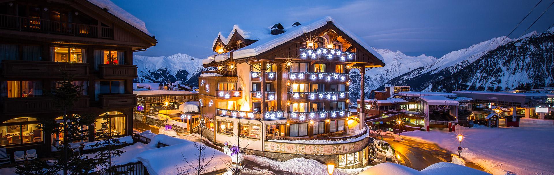 Hôtel en montagne