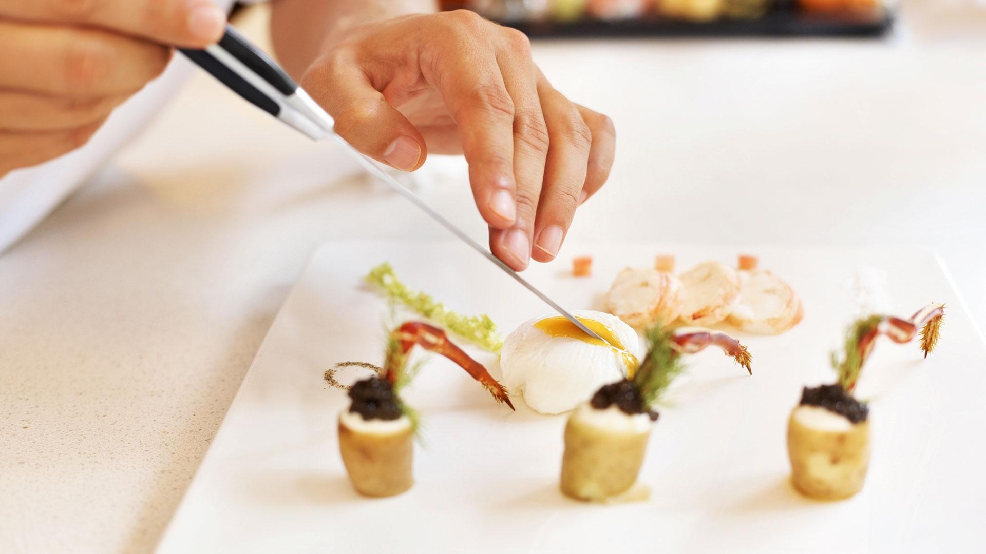 Assiette gastronomie